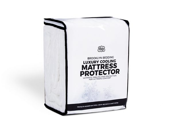 Luxury Cooling Mattress Protector - Packaging