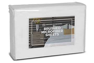 Shop Brushed Microfiber Sheets Today - Brooklyn Bedding
